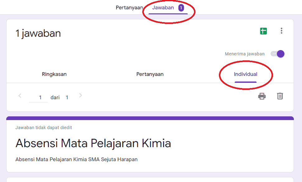 Cara Melihat Jawaban Google Form