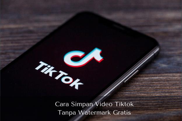 Cara Simpan Video Tiktok Tanpa Watermark Gratis - Muhamadridwan.com